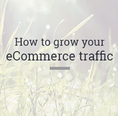 how to grow your ecommerce traffic