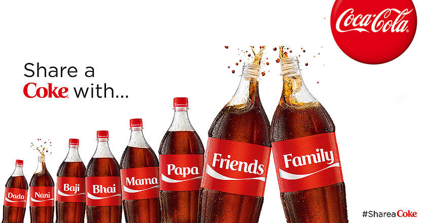 coca cola word of mouth share a coke with friends